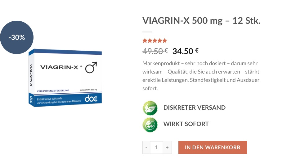 Viagrin Kapseln